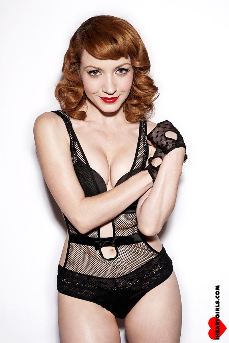 Megan in Black Lingerie 3