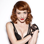 Megan Duffy ♥s Black Lingerie