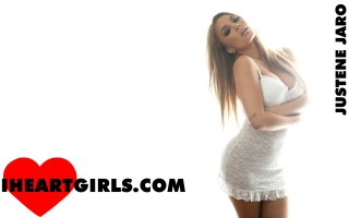 Justene Jaro ♥s White Lingerie Wallpapers