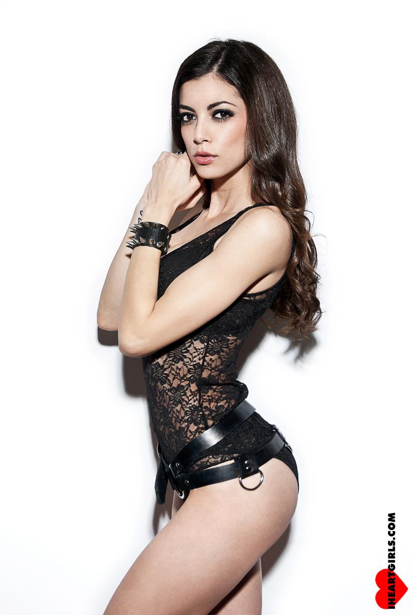 LeeAnna Vamp Black Lace 3
