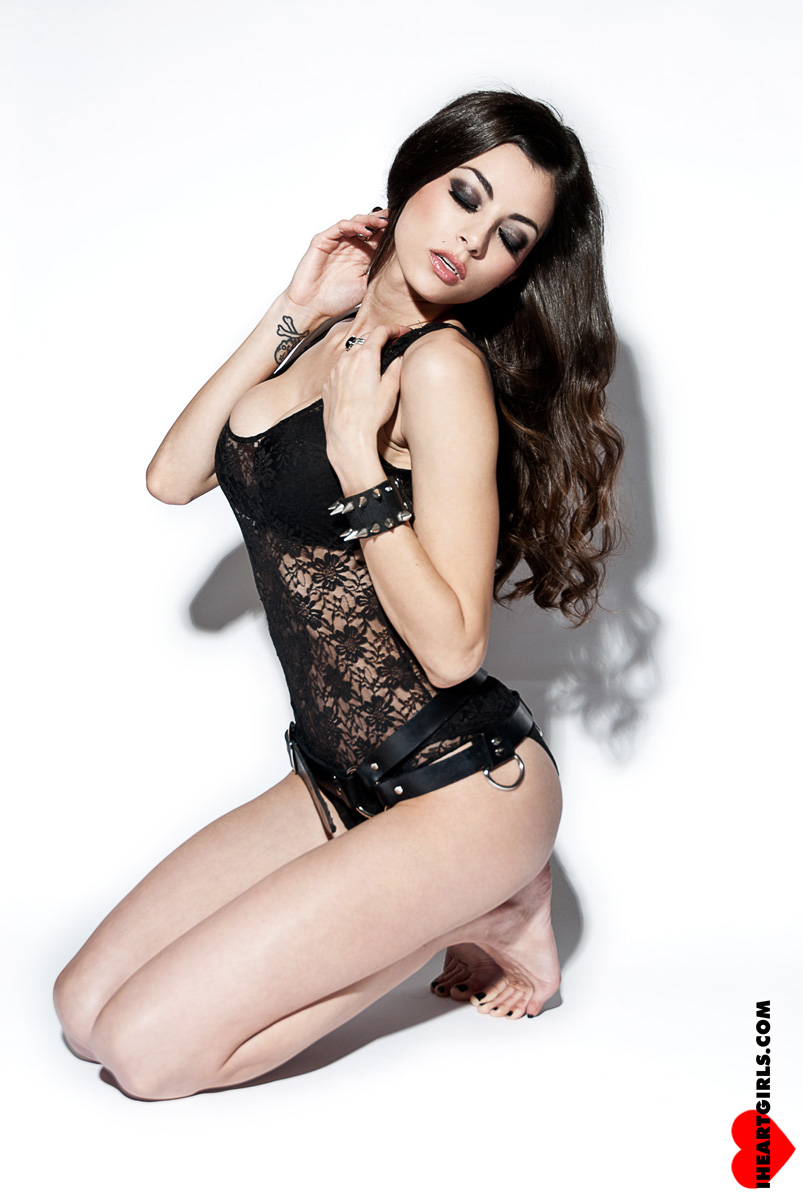 LeeAnna Vamp Black Lace 4