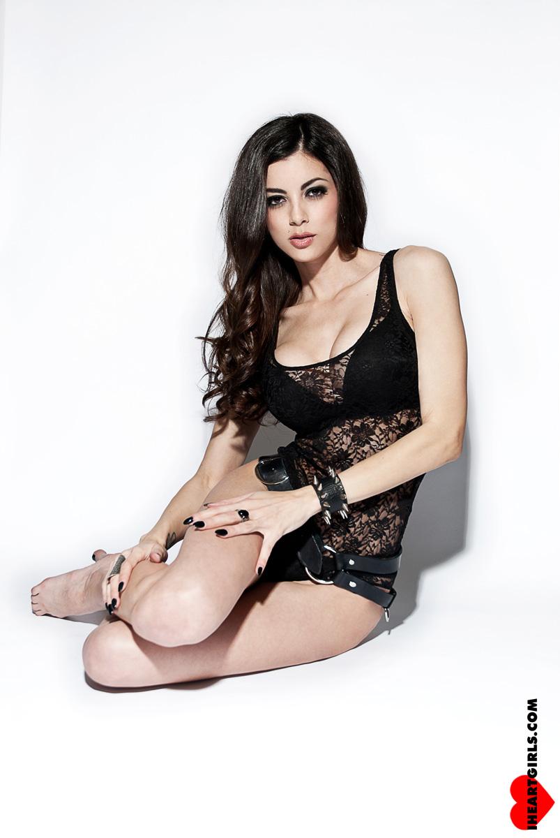 LeeAnna Vamp Black Lace 5