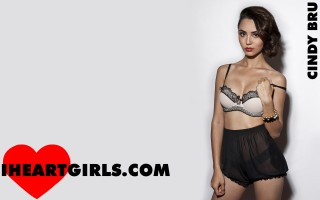 Cindy Bru ♥s Sheer Knickers Wallpapers