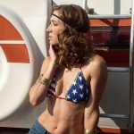 Genevieve Alexandra Wears Stars and Stripes 10