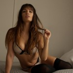 Shay Maria in Bed 16