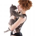 Megan Black Lingerie 4