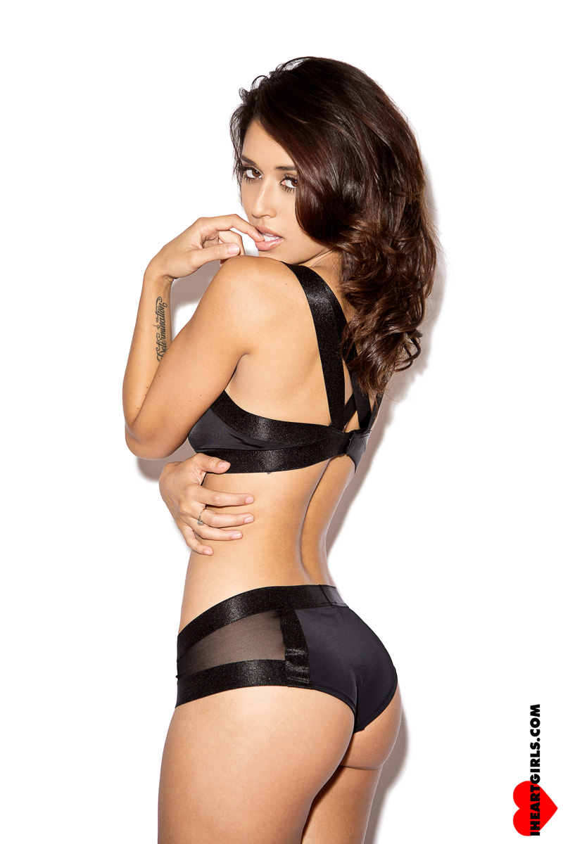 Tianna Gregory in Black 4